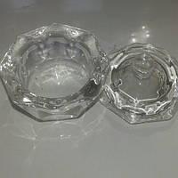 Стакан для мономера с крышкой стекло