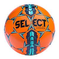 Мяч футбольный SELECT COSMOS Extra Everflex 312 оранжево-сине-голубой р.5