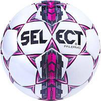 Мяч футбольный SELECT PALERMO 310 бело-серо-розовый р.4