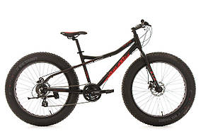 "Велосипед горный FATBIKE KS Cycling SNW2458 24-S. 26"""