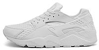 """Женские кроссовки Nike Huarache """"All White"""" (найк хуарачи) белые"""