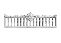 Еврозабор секция В 17