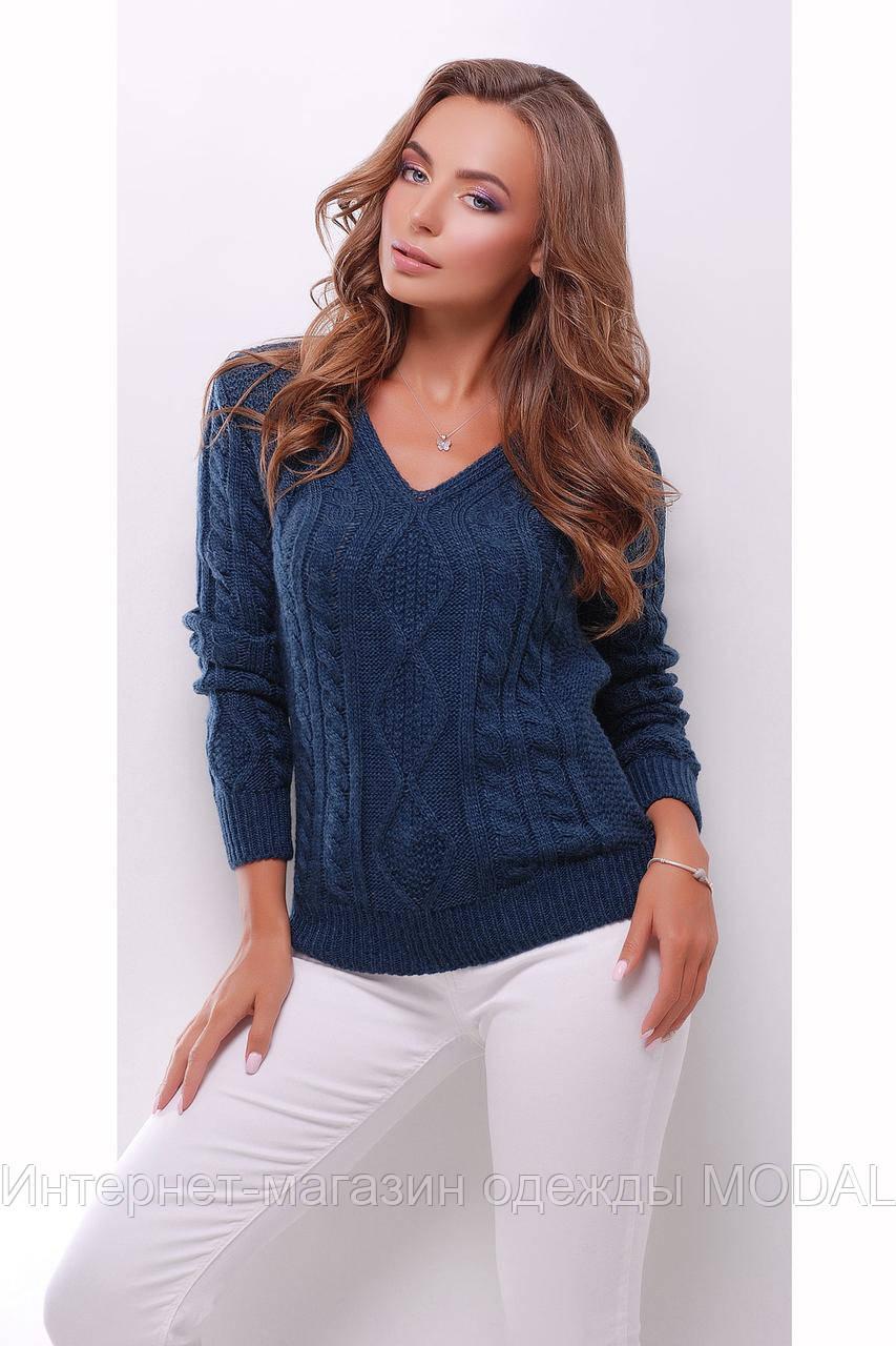 теплый вязаный свитер женский цена 315 грн купить в киеве Prom