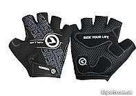 Перчатки с короткими пальчами KLS Comfort New черн/бел S