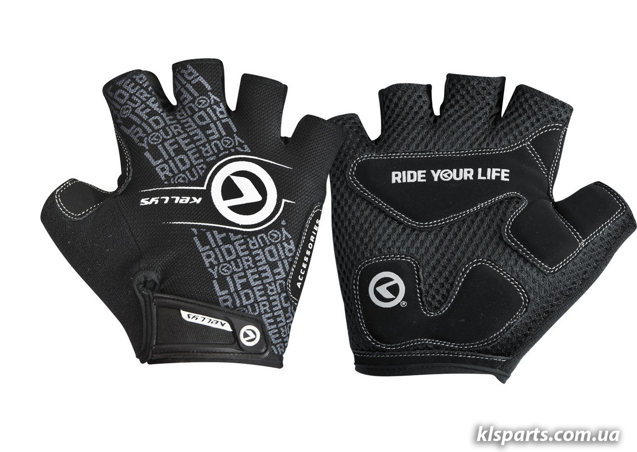 Перчатки с короткими пальчами KLS Comfort New черн/бел L