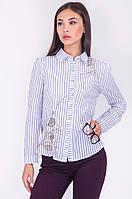 Молодежная красивая и нарядная блузка с декором