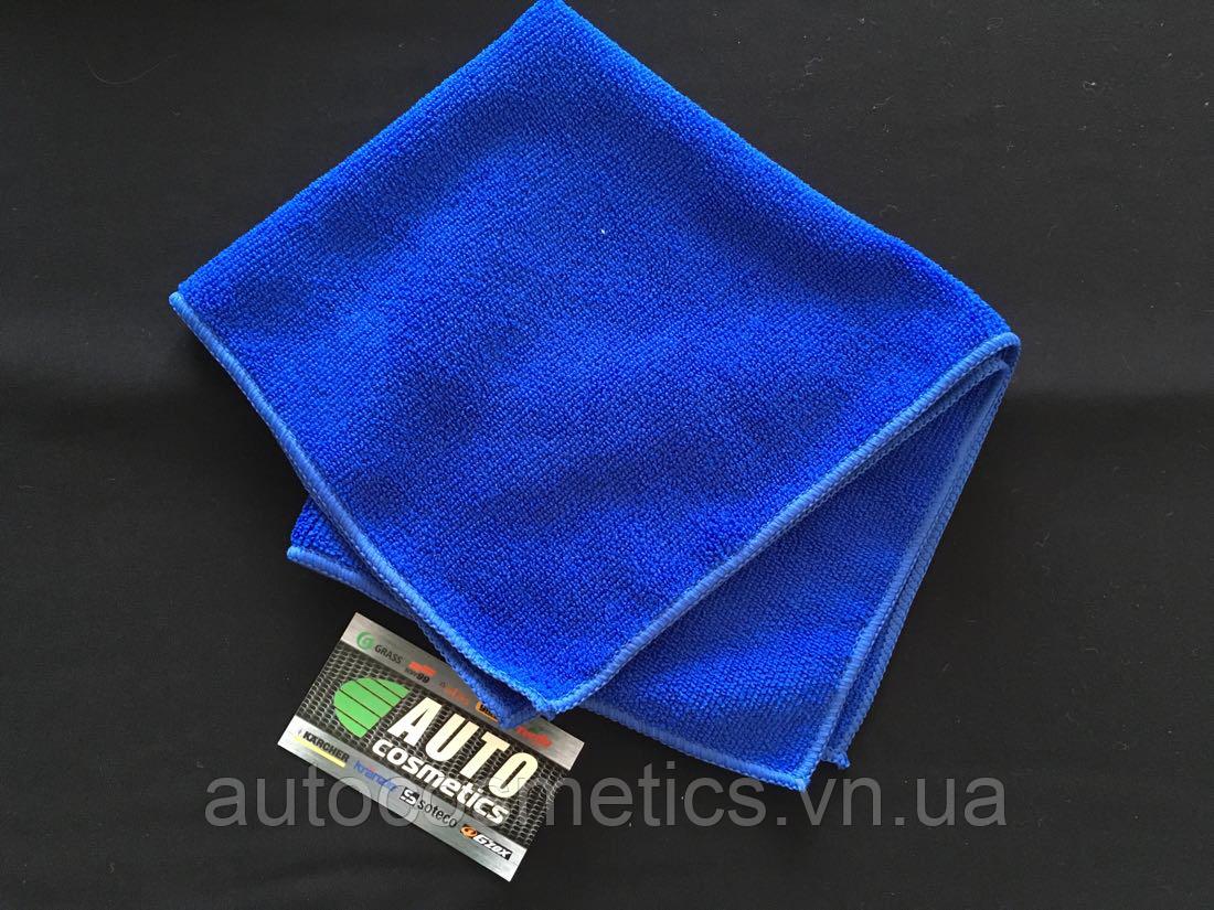 Микрофибра 40*40 280 г/м2 синяя