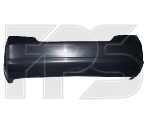 Задний бампер Nissan Tiida седан (05-14) с отв. под птф, Арабская верс