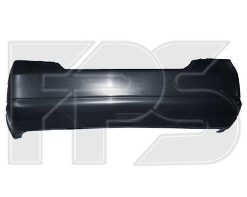 Задний бампер Nissan Tiida седан (05-14) с отв. под птф, Арабская версия (FPS) 85022ED425, фото 2