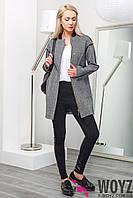 Актуальное стильное пальто PL-8629, фото 1