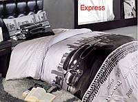Полуторное детское постельное , хлопок ранфорс. Altinbasak (Турция),  Express - полуторный