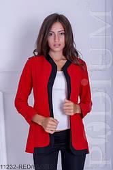 Женский пиджак-кардиган (норма + батал)