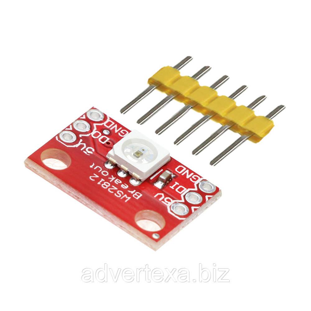 Светодиодный модуль WS2812 RGB LED Breakout для Arduino