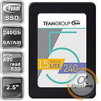 """Накопитель SSD 2.5"""" 240GB Team L5 Lite T2535T240G0C101 (SATA III, 400/530)"""