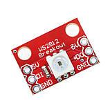 Світлодіодний модуль WS2812 RGB LED Breakout для Arduino, фото 3