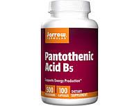 Pantothenic Acid B5 500 mg 100 caps