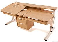 Стол регулируемый по высоте  для двоих детей