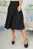 Модная женская юбка с карманами по бокам.