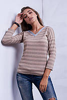 Модная кофта с люрексной нитью
