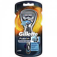 Бритва Gillette Fusion ProShield с 2 сменными кассетами