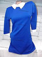 """Платье женское с воротником демисезонное """"Silvia""""-купить оптом со склада на 7км LM-622"""