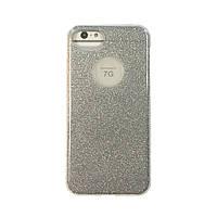 Чехол силиконовый Aspor Mask Collection серебро для iPhone 7