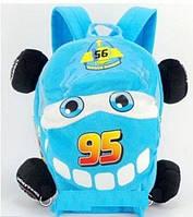 Рюкзак дошкольный детский Тачки Молния Маквин McQueen 555-13, высота 26см