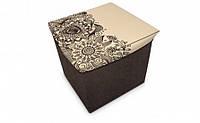 Короб складной многофункциональный с емкостью для хранения Цветы