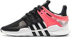 Мужские кроссовки Adidas EQT Support ADV Turbo Black Pink