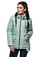 Модная куртка женская с капюшоном осенняя