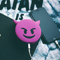 Универсальная портативная батарея Power Bank emoji Дьявол