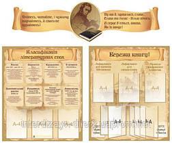 Набор стендов для оформления библиотеки