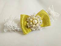 Свадебная подвязка для невесты Wedding