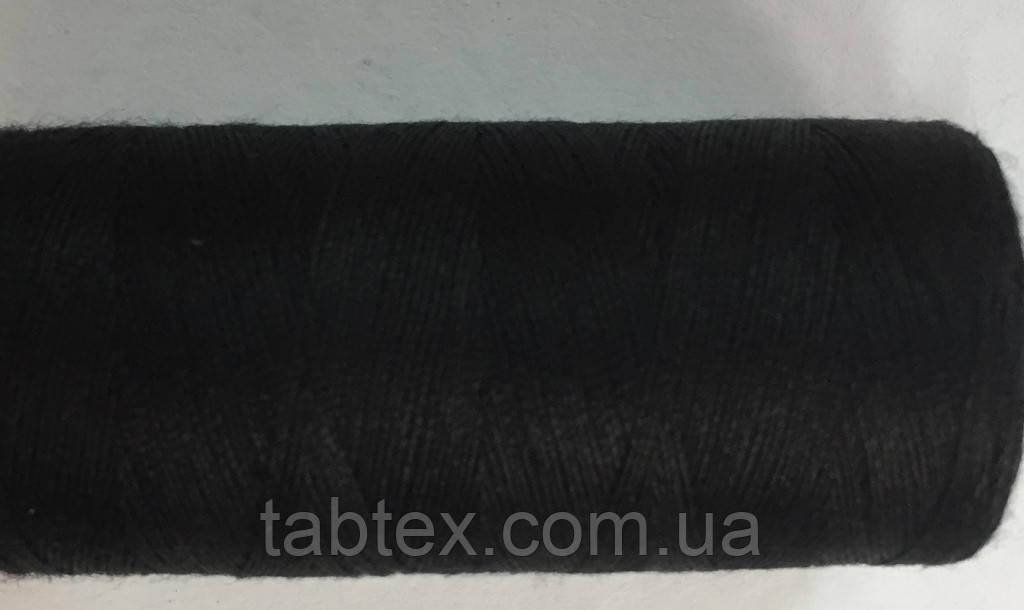 Нитка швейная 40/2 400ярд. черная