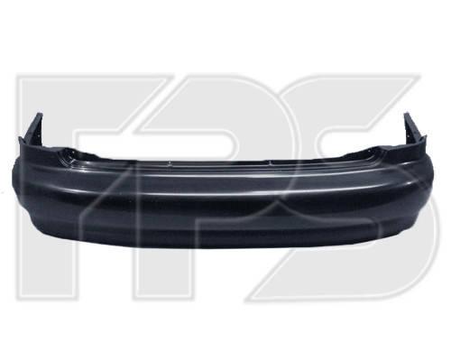 Задний бампер Daewoo Lanos / Sens 98- Седан, черный, без шины (T150) (FPS), фото 2