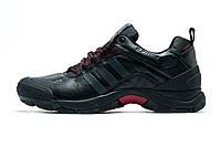 Кроссовки Adidas мужские, черные с серым, р. 41 43  44
