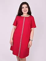 Платье со стразами на полочке - 1061