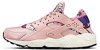 "Женские кроссовки Nike Air Huarache Aloha Pack ""Pink"" (найк хуарачи) розовые"