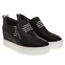 Туфли женские Gelsomino (черные, модные, удобные, стильные)