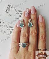 Гарнитур из серебра и золота №0067.10