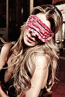 Маска на глаза Satin and Lace Sleep Mask от Baci  Lingerie