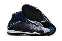 Сороконожки Nike HypervenomX Proximo TF black/blue, фото 1