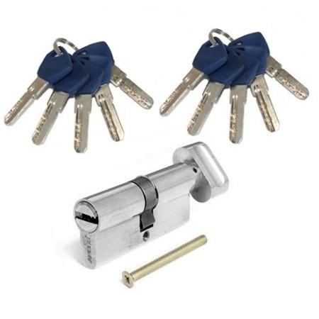 Цилиндровый механизм Apecs EM-70-C-N(10 ключей!)