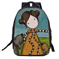 Рюкзак для подростка Девочка Аниме