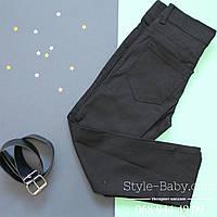 Классические черные брюки для мальчика Турция р. 10-12 лет