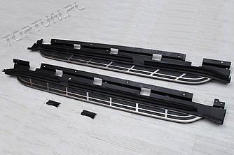 Пороги подножки площадки Porsche Macan (OEM)