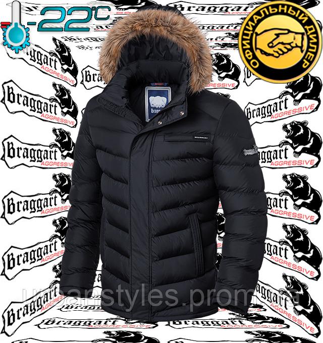 Куртки зимние с мехом Braggart Aggressive