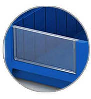 Фронтальная панель VP 1509 к полочным контейнерам SK (115x50 мм)