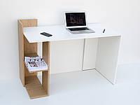 Компьютерный стол ВМВ Холдинг HOSHELF дуб каменнный, белый