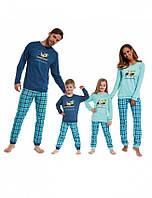 Пижамы для всей семьи.Cornette Toucan
